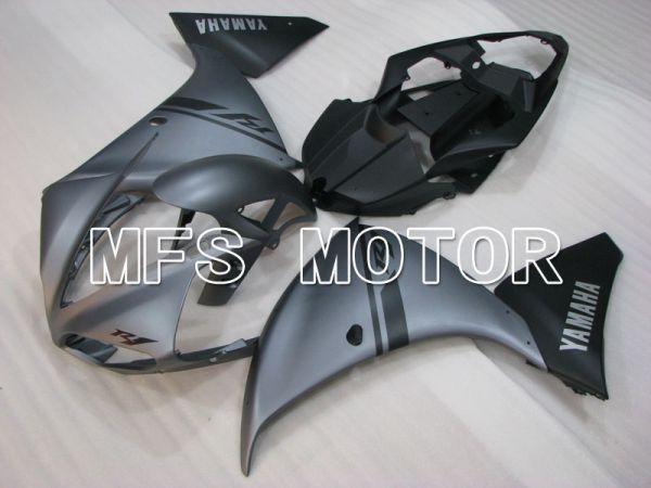 Yamaha YZF-R1 2009-2011 Injection ABS Fairing - Factory Style - Black Gray Matte - MFS3411