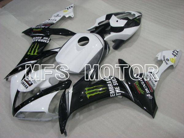 Yamaha YZF-R1 2004-2006 Injection ABS Fairing - Monster - Black White - MFS3419