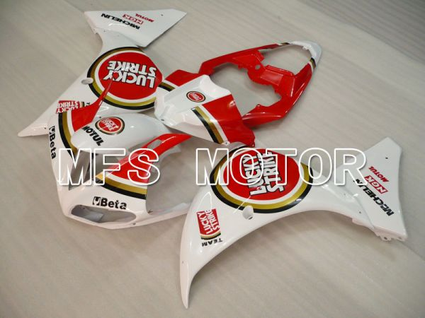 Yamaha YZF-R1 2009-2011 Injection ABS Fairing - Lucky Strike - White Red - MFS3420