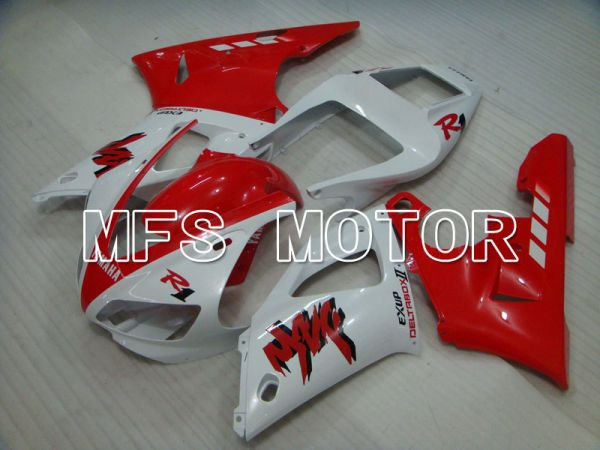 Yamaha YZF-R1 1998-1999 Injection ABS Fairing - Factory Style - Red White - MFS3422