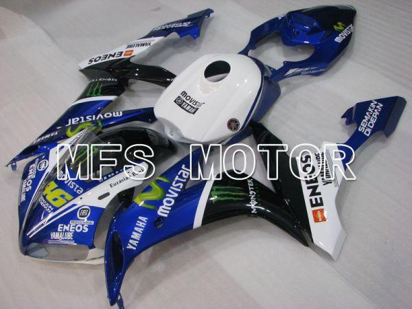 Yamaha YZF-R1 2004-2006 Injection ABS Fairing - Monster - Black White Blue - MFS3429