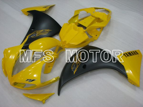 Yamaha YZF-R1 2009-2011 Injection ABS Fairing - Factory Style - Yellow Black Matte - MFS3432