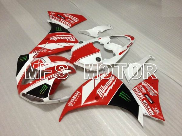 Yamaha YZF-R1 2009-2011 Injection ABS Fairing - Monster - Red White - MFS3436