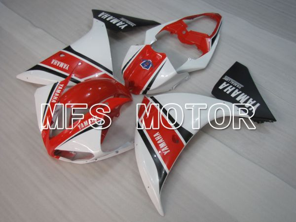 Yamaha YZF-R1 2009-2011 Injection ABS Fairing - Factory Style - Red White - MFS3453
