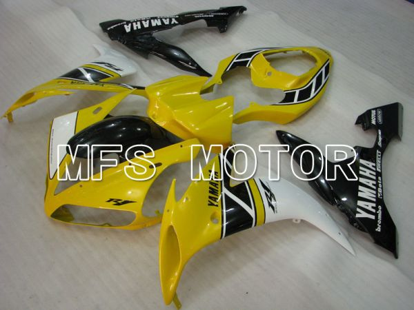 Yamaha YZF-R1 2004-2006 Injection ABS Fairing - MOTUL - Black Yellow - MFS3455