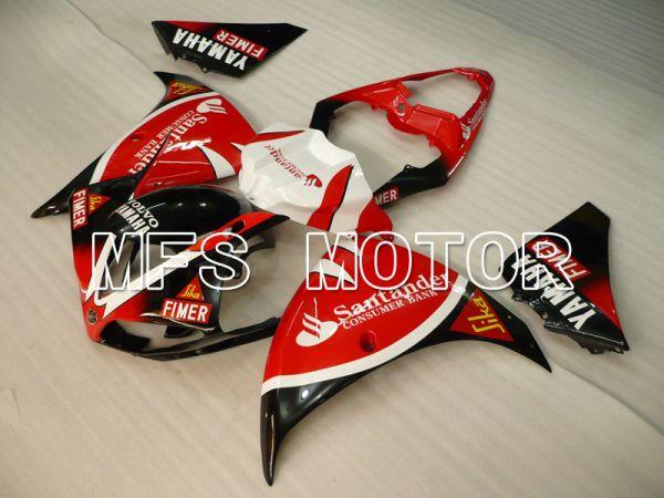 Yamaha YZF-R1 2009-2011 Injection ABS Fairing - Santander - Black Red - MFS3457