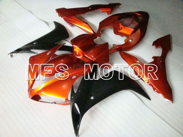 Yamaha YZF-R1 2004-2006 Injection ABS Fairing - Factory Style - Orange Matte Black - MFS3464
