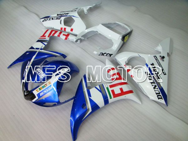 Yamaha YZF-R6 2003-2004 Injection ABS Fairing - FIAT - Blue White - MFS3476