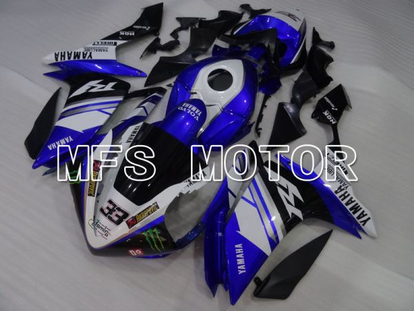 Yamaha YZF-R1 2007-2008 Injection ABS Fairing - Monster - Blue White - MFS3494