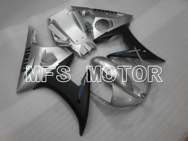 Yamaha YZF-R6 2003-2004 Injection ABS Fairing - Factory Style - Silver Black Matte - MFS3502