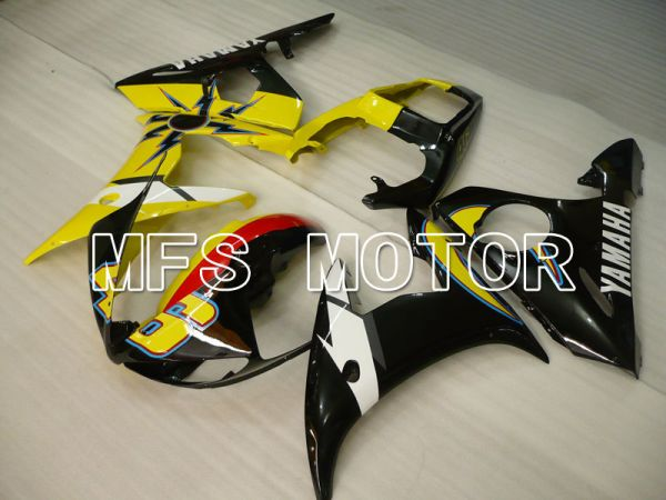 Yamaha YZF-R6 2003-2004 Injection ABS Fairing - Others - Yellow Black - MFS3504
