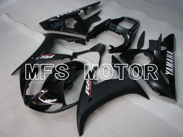 Yamaha YZF-R6 2003-2004 Injection ABS Fairing - Factory Style - Matte Black - MFS3506