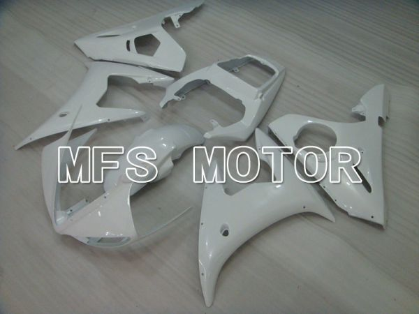 Yamaha YZF-R6 2003-2004 Injection ABS Fairing - Factory Style - White - MFS3509