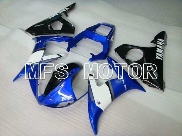 Yamaha YZF-R6 2003-2004 Injection ABS Fairing - Factory Style - Blue Black - MFS3514