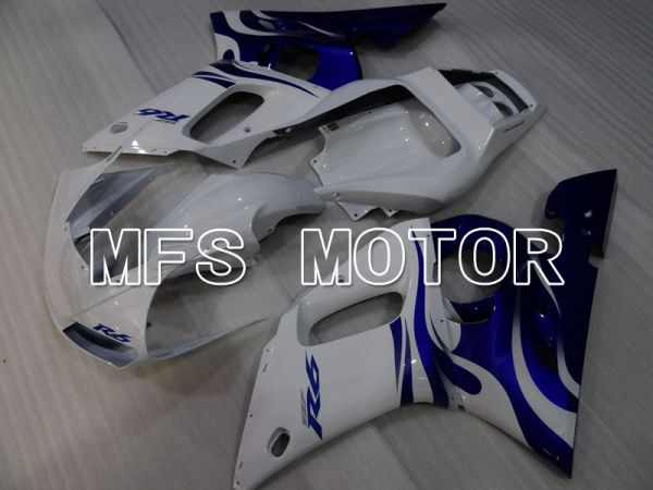 Yamaha YZF-R6 1998-2002 Injection ABS Fairing - Factory Style - Blue White - MFS3517
