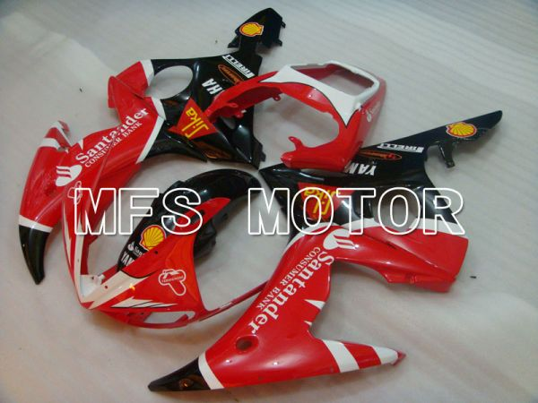 Yamaha YZF-R6 2003-2004 Injection ABS Fairing - Santander - Red Black - MFS3518
