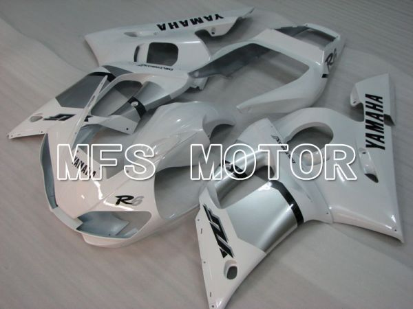Yamaha YZF-R6 1998-2002 Injection ABS Fairing - Factory Style - White - MFS3533