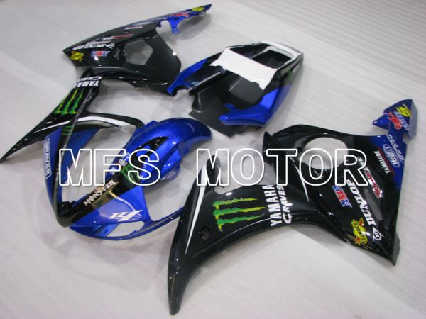 Yamaha YZF-R6 2003-2004 Injection ABS Fairing - Monster - Blue Black - MFS3534