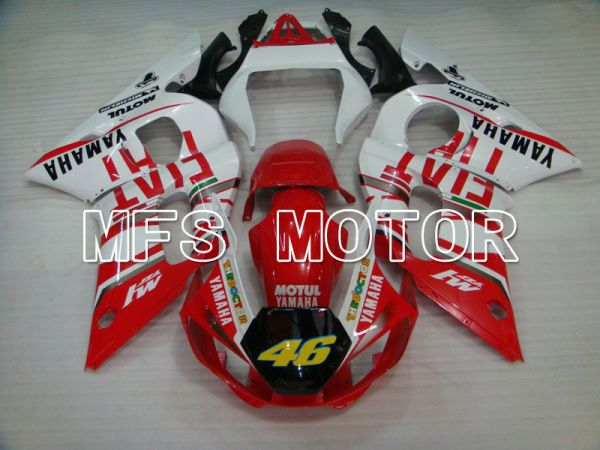 Yamaha YZF-R6 1998-2002 Injection ABS Fairing - FIAT - Red White - MFS3553
