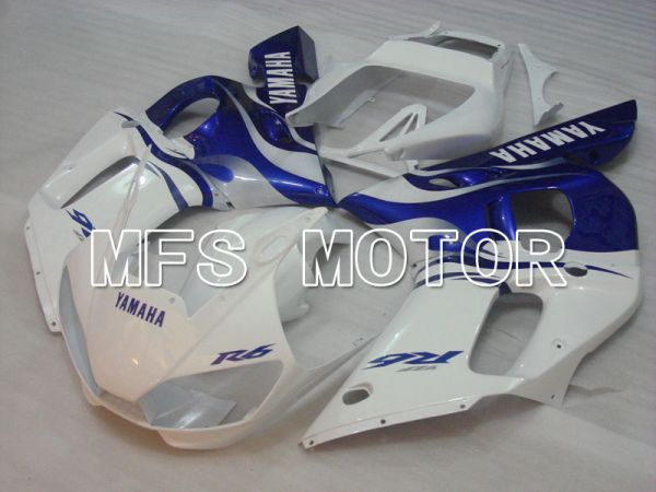 Yamaha YZF-R6 1998-2002 Injection ABS Fairing - Factory Style - Blue White - MFS3562