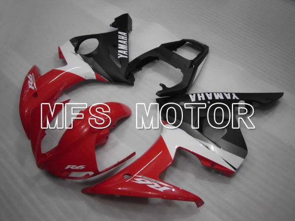 Yamaha YZF-R6 2003-2004 Injection ABS Fairing - Factory Style - Red Black - MFS3566