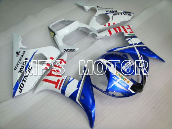 Yamaha YZF-R6 2005 Injection ABS Fairing - FIAT - Blue White - MFS3583