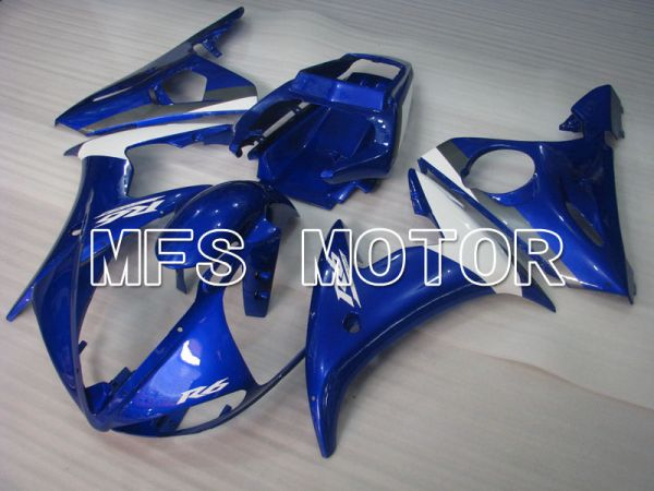 Yamaha YZF-R6 2003-2004 Injection ABS Fairing - Factory Style - Blue White - MFS3594