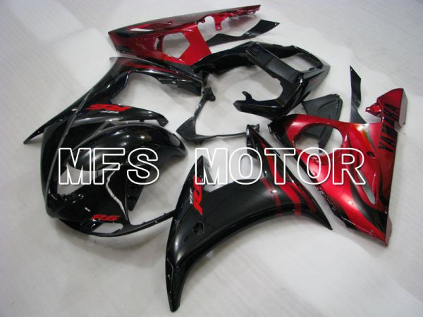 Yamaha YZF-R6 2005 Injection ABS Fairing - Factory Style - Black Red - MFS3595