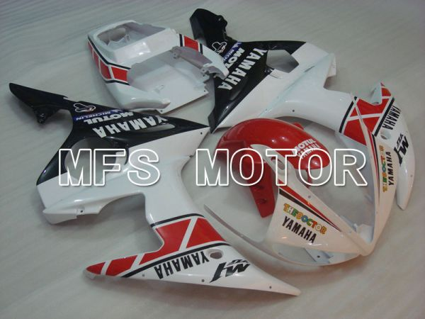 Yamaha YZF-R6 2005 Injection ABS Fairing - MOTUL - Red White - MFS3612