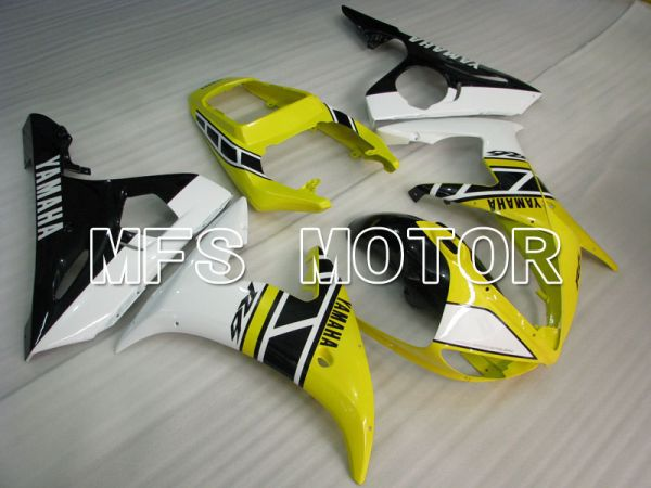 Yamaha YZF-R6 2005 Injection ABS Fairing - Factory Style - White Yellow - MFS3616