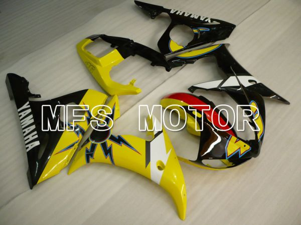 Yamaha YZF-R6 2005 Injection ABS Fairing - Others - Yellow Black - MFS3625