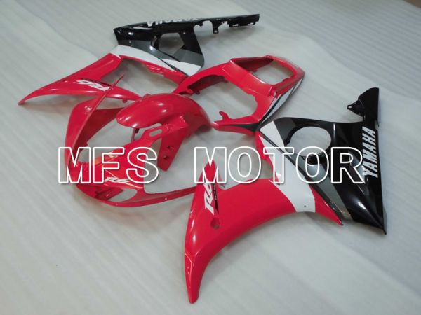 Yamaha YZF-R6 2003-2004 Injection ABS Fairing - Factory Style - Red Black - MFS3627