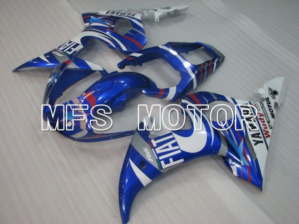 Yamaha YZF-R6 2003-2004 Injection ABS Fairing - FIAT - Blue White - MFS3635
