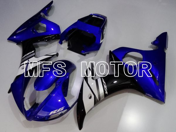 Yamaha YZF-R6 2003-2004 Injection ABS Fairing - Factory Style - Blue Black - MFS3638