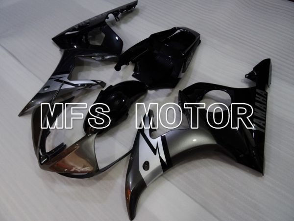 Yamaha YZF-R6 2003-2004 Injection ABS Fairing - Factory Style - Silver Black - MFS3643