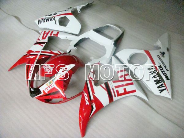 Yamaha YZF-R6 2003-2004 Injection ABS Fairing - FIAT - Red White - MFS3651