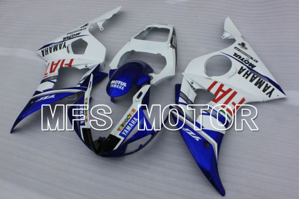 Yamaha YZF-R6 2003-2004 Injection ABS Fairing - FIAT - Blue White - MFS3655