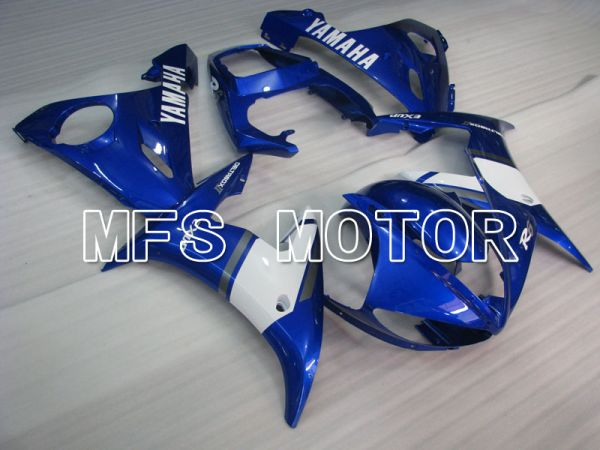 Yamaha YZF-R6 2005 Injection ABS Fairing - Factory Style - Blue White - MFS3659