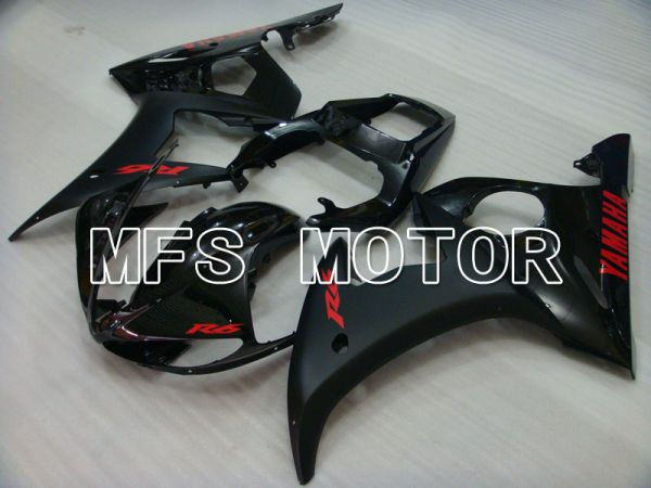 Yamaha YZF-R6 2003-2004 Injection ABS Fairing - Factory Style - Matte Black - MFS3666