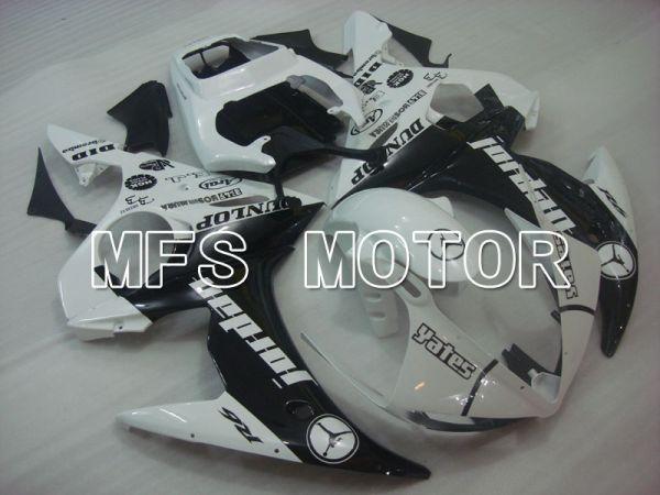 Yamaha YZF-R6 2005 Injection ABS Fairing - Jordan - Black White - MFS3678