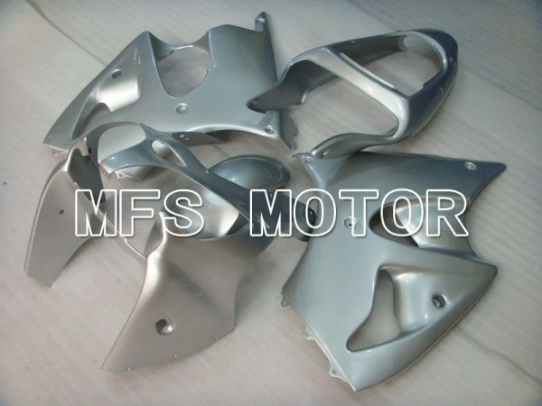 Kawasaki NINJA ZX6R 2000-2002 Injection ABS Fairing - Factory Style - Silver - MFS3679