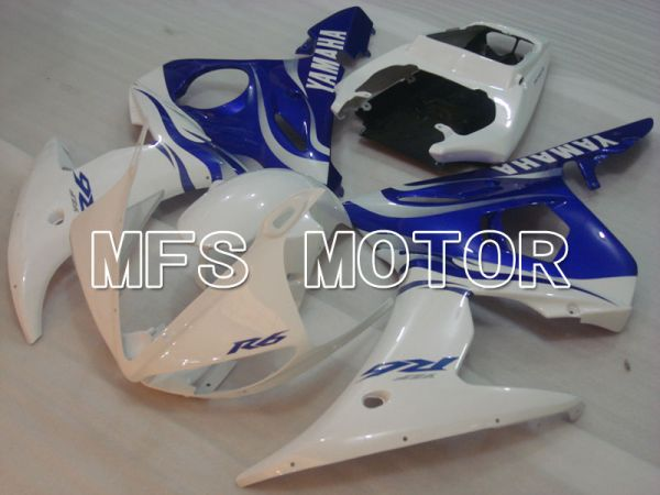 Yamaha YZF-R6 2005 Injection ABS Fairing - Factory Style - Blue White - MFS3683