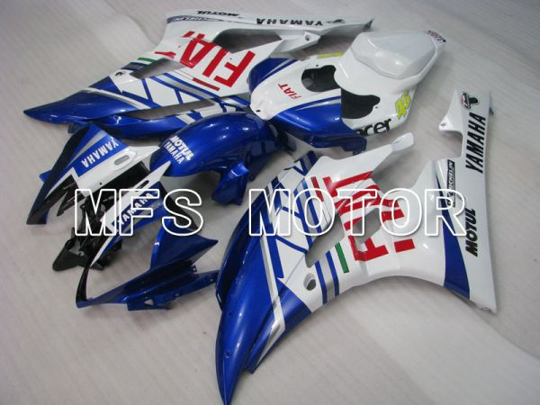 Yamaha YZF-R6 2006-2007 Injection ABS Fairing - FIAT - Blue White - MFS3685