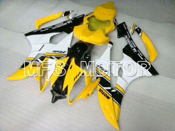 Yamaha YZF-R6 2006-2007 Injection ABS Fairing - MOTUL - Yellow White - MFS3692