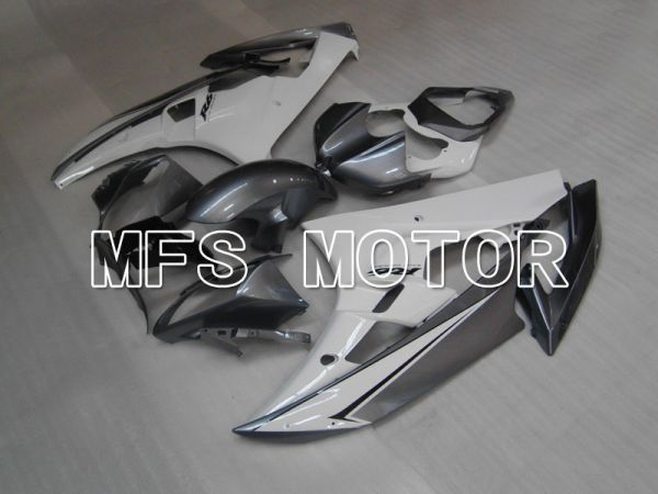 Yamaha YZF-R6 2006-2007 Injection ABS Fairing - Factory Style - Gray White - MFS3697