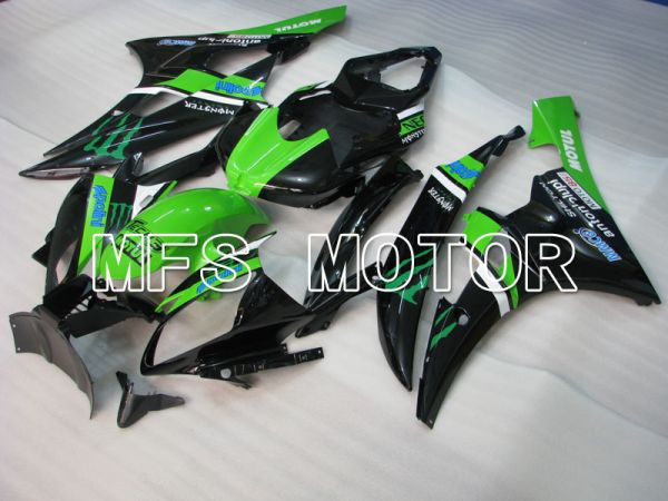 Yamaha YZF-R6 2006-2007 Injection ABS Fairing - Monster - Green Black - MFS3740