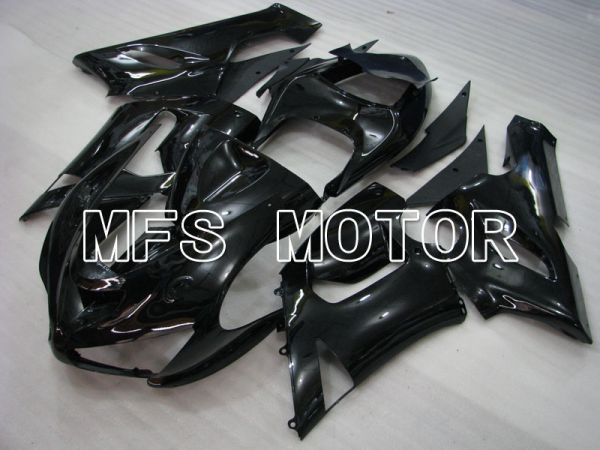 Kawasaki NINJA ZX6R 2005-2006 Injection ABS Fairing - Factory Style - Black - MFS3746