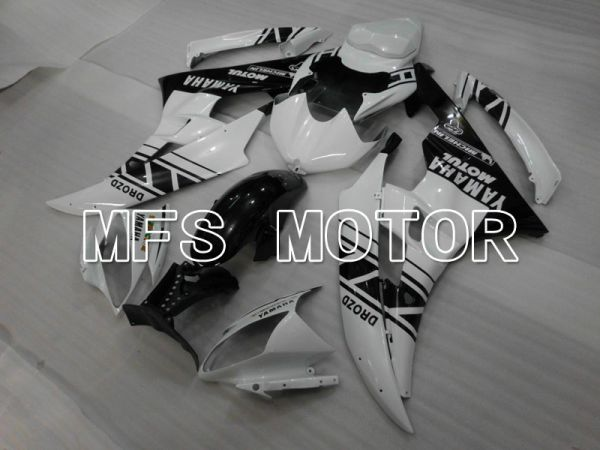 Yamaha YZF-R6 2006-2007 Injection ABS Fairing - Others - Black White - MFS3748