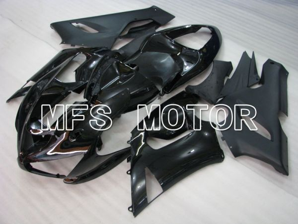 Kawasaki NINJA ZX6R 2005-2006 Injection ABS Fairing - Factory Style - Black - MFS3749