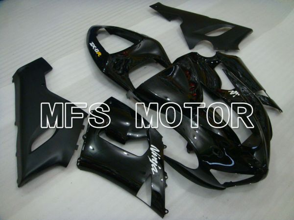 Kawasaki NINJA ZX6R 2005-2006 Injection ABS Fairing - Factory Style - Black - MFS3758